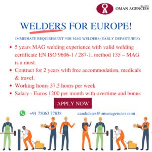 Welders for Europe