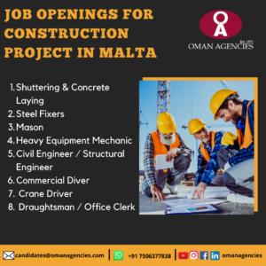 Overseas Construction Jobs