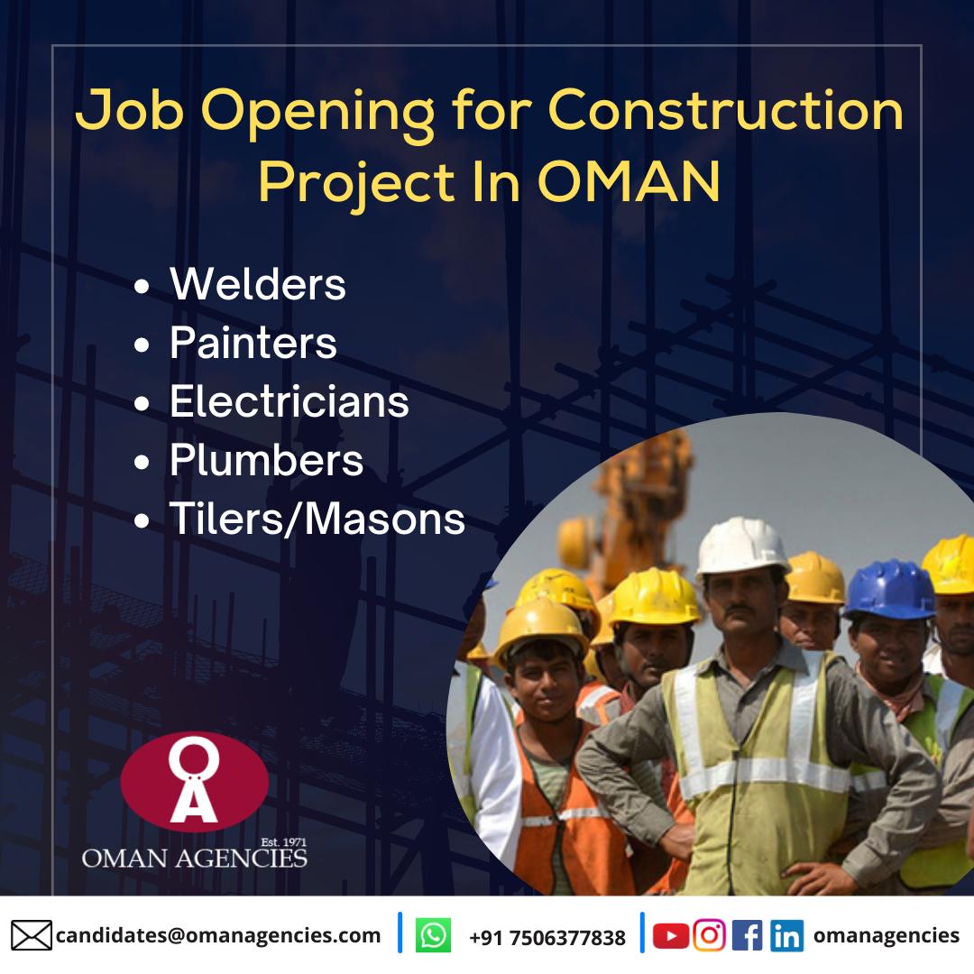 Construction Jobs in Oman