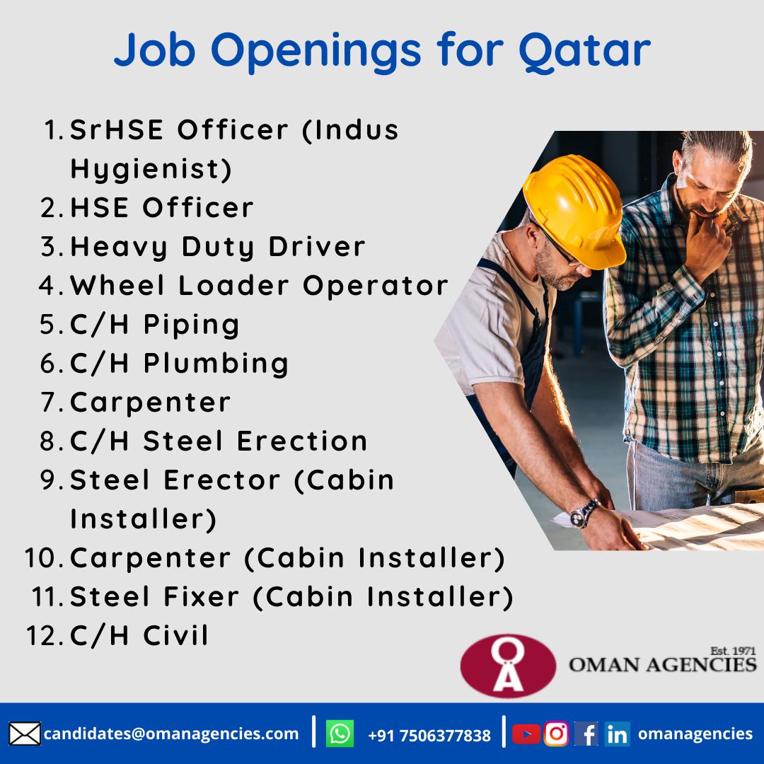 Construction Jobs in Qatar