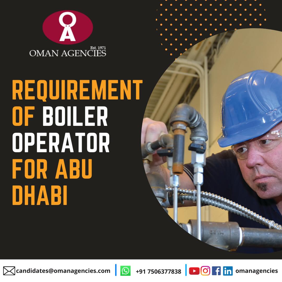 Boiler Operator Jobs Abroad