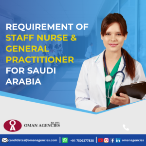 Nurses Job in Saudi Arabia