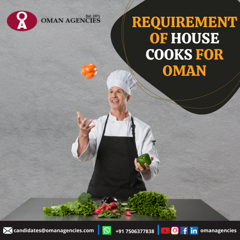 Home Cook Job in Oman